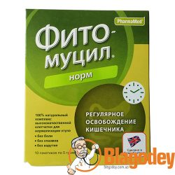 Фитомуцил норм пакетики 5 г, 10 шт. Купить, цена, отзывы.