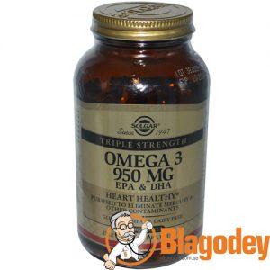 Солгар Омега-3 ЭПК ДГК (Solgar Omega-3 EPA & DHA)