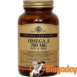Солгар Омега-3 700 мг ЭПК/ДГК (Solgar Omega-3 EPA & DHA), капсулы, 30 шт. Купить, цена, отзывы.