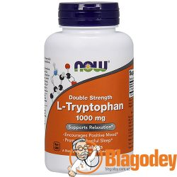 Now Foods L-Триптофан Двойная Сила (L-Tryptophan, Double Strength). Купить, цена, отзывы