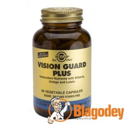 Солгар Вижн Гард плюс (Solgar Vision Guard Plus) капсулы, 60 шт.
