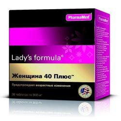 Ледис формула (Lady's Formula) Женщина 40 плюс 30 шт. Купить, цена, отзывы