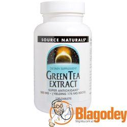 Source Naturals Зеленый чай экстракт (Green Tea Extract), 500 мг, 120 табл. Купить, цена, отзывы