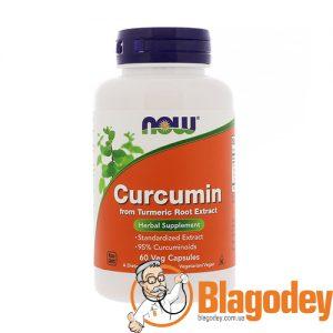 Now Foods Curcumin (Куркумин), 665 мг, 60 капс. Купить, цена, отзывы.