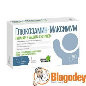 Глюкозамин Максимум таблетки, 30 шт. Купить, цена, отзывы.
