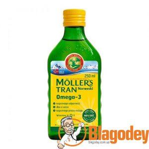 Рыбий жир жидкий Омега-3 Moller (Меллер), 250 мл. Купить, цена, отзывы.